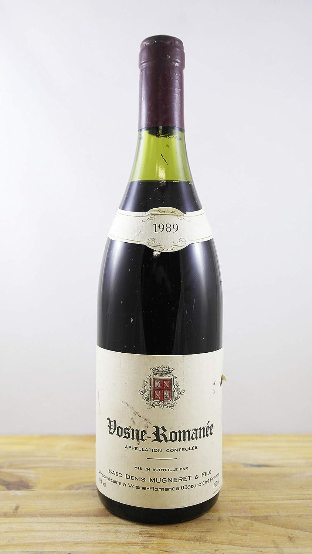 Vino Cosecha 1989 Vosne-Romanée Botella
