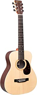 Little Martin LX1R Acoustic Guitar with Gig Bag, Sitka Spruce and Rosewood Pattern HPL Construction, Modified 0-14 Fret, M...