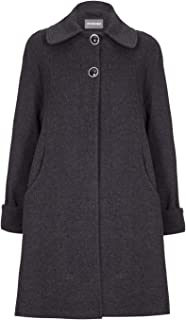 De La Creme Womens Swing Wool Cashmere Winter Coat