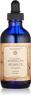 ELMA&SANA® Golden Argan Oil 100% Pure Cold Pressed Virgin Organic Certified By Ecocert -4oz(120ml)