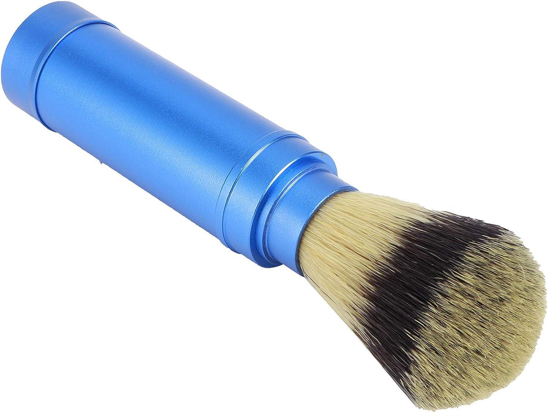 Bicaquu Phoenix Mall Max 78% OFF Beard Cleaning Brush Easy Blue Ergono Store