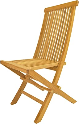 Anderson Teak Classic Folding Chair, Macaw
