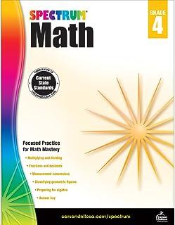 Spectrum   Math Workbook   Grade 4, Printable
