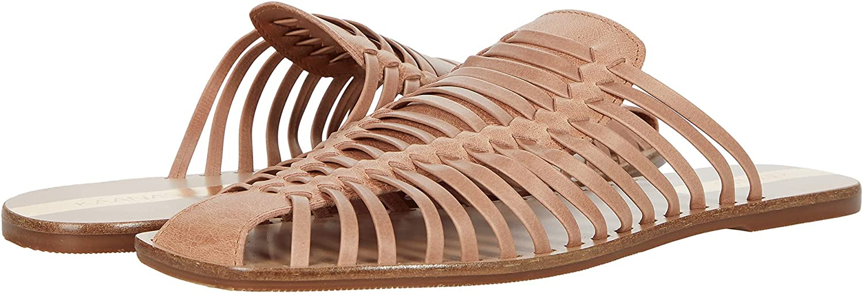 KAANAS Abai Huarache Leather Slide
