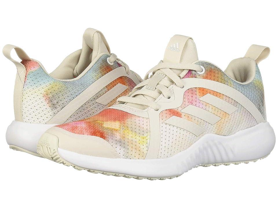 adidas Kids FortaRun X (Little Kid/Big Kid) (White/Rainbow) Girls Shoes