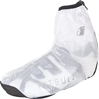 Pitbull Trap Bicycle Shoe Cover Transparent XXL (47-49) Overshoes Cover Sock Wind- Waterproof
