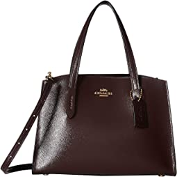 Charlie 28 Carryall in Crossgrain Patent Leather