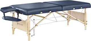 Master Massage Catalina Therma-Top Portable Massage Table Package, Royal Blue, 30 Inch