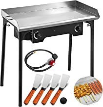 Best gas stainless steel griddle Reviews