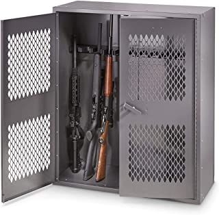 HQ ISSUE Metal Gun Locker, 12 Gun Capacity
