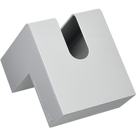 アッシュコンセプト (h concept) ティッシュケース グレー 19.5×11.4×13.2cm D-662-GY