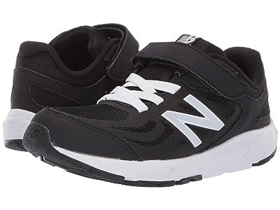 New Balance Kids 519v1 (Little Kid/Big Kid) (Black/White) Boys Shoes