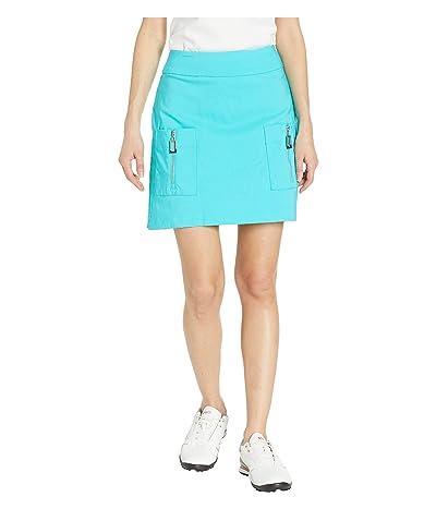 Jamie Sadock Skinnylicious Slimming Pull-On Skort (Jelly Bean) Women