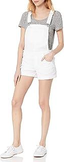 WallFlower Women's Denim Shortalls Overalls