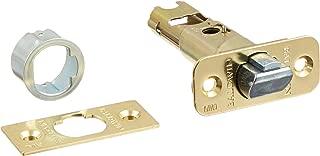 Kwikset 43033 6WAL DL SC 3 6-Way Adjustable Deadlatch in Polished Brass