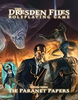 Evil Hat Productions The Dresden Files The Paranet Papers (Volume 3) Roleplaying Game