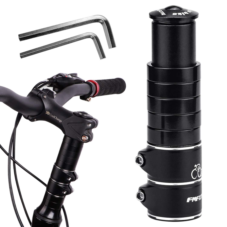 DESON Elevador de Manillar para Bicicletas, Extensor para Manillar de Bicicleta, con Dos Llaves Hexagonales Pequeñas, Universal Compatible: Amazon.es: Deportes y aire libre