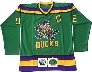 Charlie Conway #96 Mighty Ducks Ice Hockey Jersey S-XXXL
