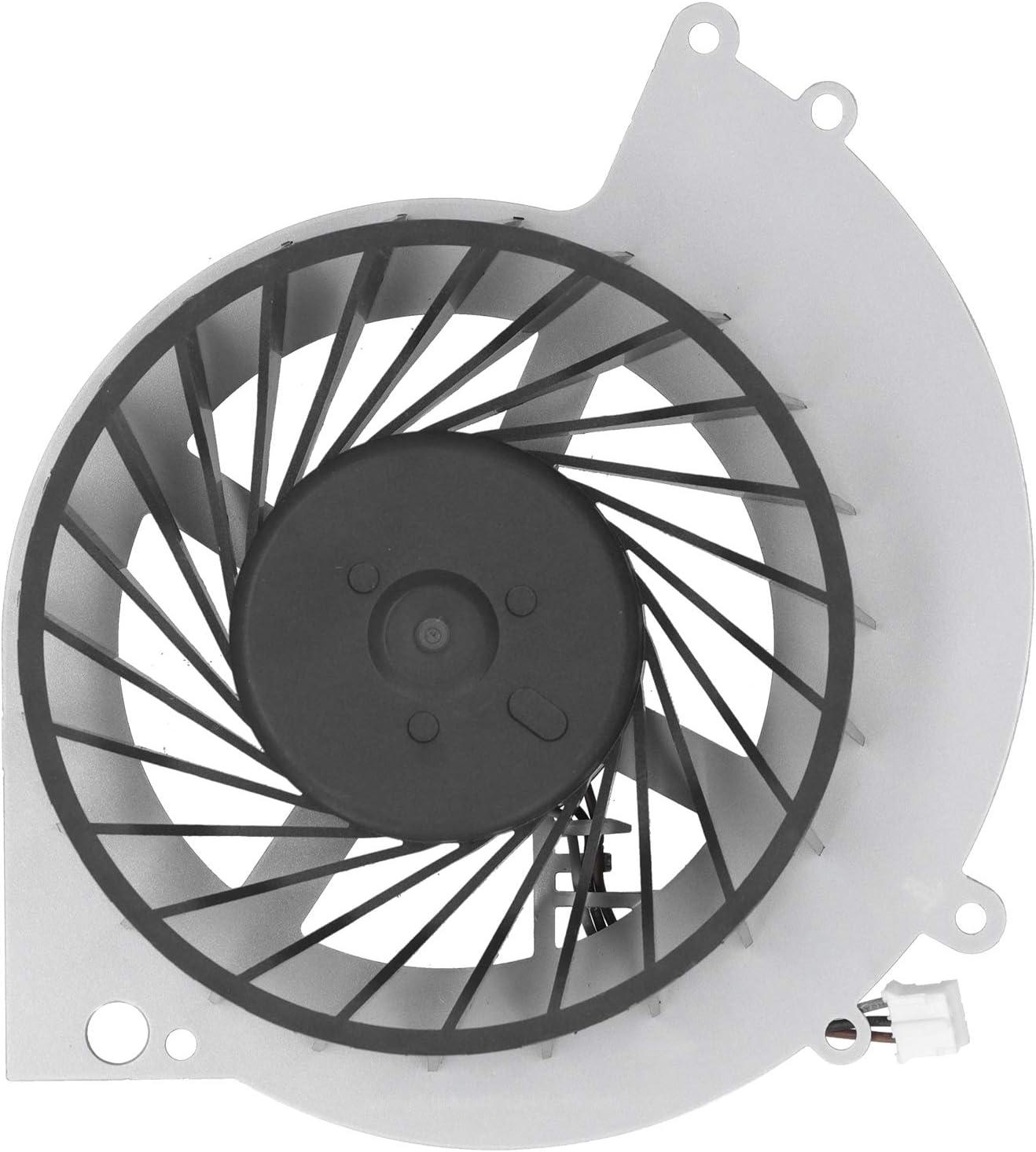 Ventilador de refrigeración de CPU, Repuesto de disipador de Calor Interno de CPU de Metal DC 5V para Accesorio de Consola de Juegos PS4 1200