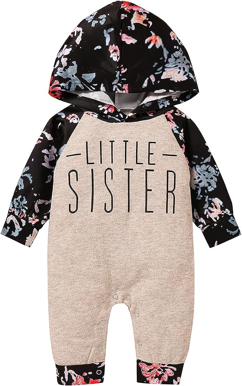 Baby Boys Girls Toddler Kids Letter Print Hoodie Sweatshirt Long Sleeve Top Pants Fall Winter Outfit Set