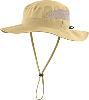 cddf24608aef1 Connectyle Men s Outdoor Mesh Boonie Sun Hat Wide Brim UV Protection  Fishing Hat