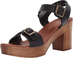 Twiggy Wooden Heeled Sandal