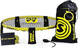 Spikeball Pro Kit (Tournament Edition) – Includes Upgraded Stronger Playing Net,..