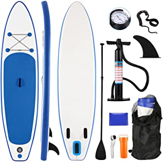 Tooluck Paddle Board, Inflatable Stand Up Paddle Board (10.5FT in Length), ISUP Accessories Included with Adj Paddle, Hand...