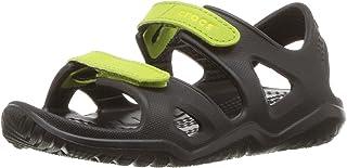 Crocs Swiftwater Mesh Sandals Kids, Bout fermé mixte enfant, US