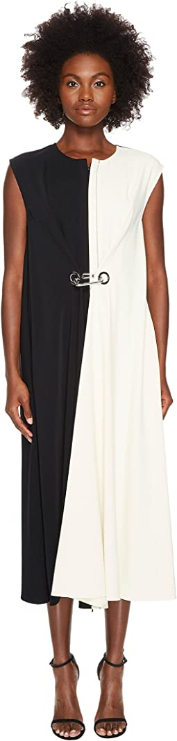 Sportmax - Balia Runway Buckled Side Wrap Tea Dress