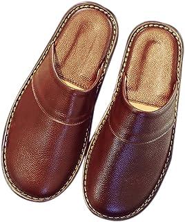 nuovo arriva a piedi a estetica di lusso Amazon.it: Pantofole Uomo Pelle