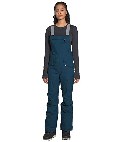 The North Face Freedom Bib (Blue Wing Teal) Women