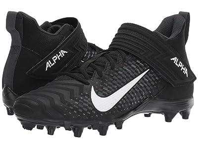 Nike Alpha Menace Varsity 2 (Black/White/Anthracite) Men