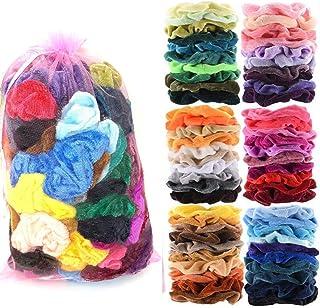 60 Pcs Premium Hair Scrunchies Hair Bands for Women or Girls Hair Accessories