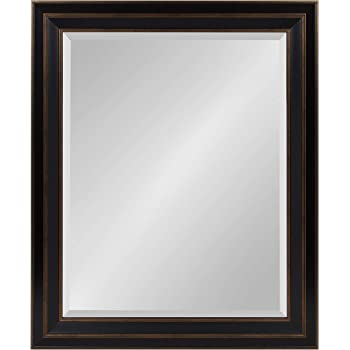 Kate and Laurel Whitley Framed Wall Mirror, 27.5x33.5, Bronze
