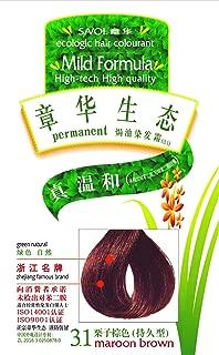 SAVOL anti-allergic ecologic Hair Colorant, Maroon Brown, Ammonia-Free