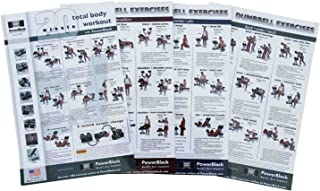 PowerBlock Dumbbell Workout Poster Pack