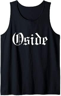 Oside Oceanside California San Diego So Cal Hometown Gothic Tank Top