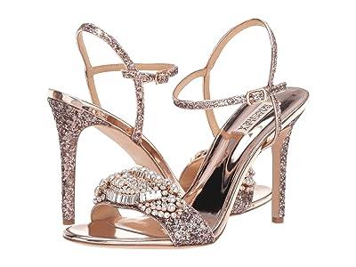 Badgley Mischka Odelia (Rose Gold) High Heels