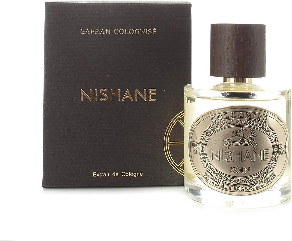 Nishane safran colognise, 100ml spray extrait de cologne, profumo unisex NISNCU040