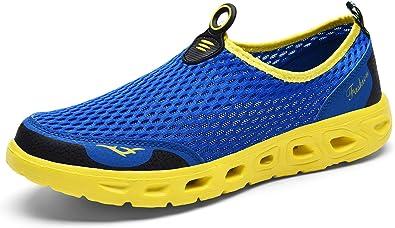 ChayChax Chaussures Aquatiques Homme Femme Chaussons de Plage Séchage Rapide Respirante Mesh Baskets Chaussure d'eau Outdoor Sports