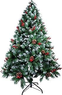AGM Árbol de Navidad Artificial, árbol de Navidad Verde Ab