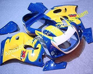 gsxr 600 yellow