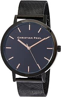Christian Paul Unisex-Adult RBB4318 Year-Round Analog Quartz Black Watch