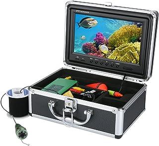 GRXXX FishFinder subacuático HD cámara bajo el Agua de 9 Pulgadas TFT Pantalla CCD CCD y Función DVR de visión HD 1000 Kit...