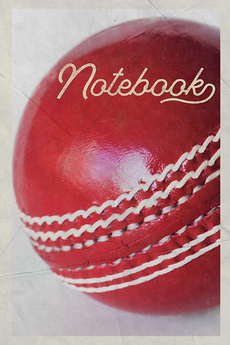 アイザック社会科群れNotebook: Bowler Nifty Useful Composition Book Journal Diary for Men, Women, Teen & Kids Vintage Retro Design Cricket Scores