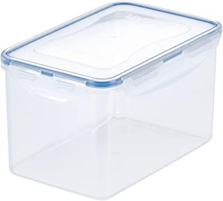 Lock & Lock HPL818 Easy Essentials Pantry Food Storage Container / Food Storage Bin, Tall - 8 Cup, Clear