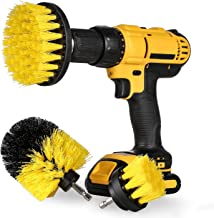 Drill Brush 3 Ways Multifunction Power Brush Cleaner Scrubbing Brushes Household Cleaning Tool for Bathroom Surface