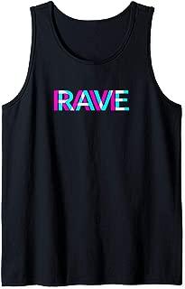 Outfit Trippy Raver EDM Festival Clothing Acid Techno Tank Top