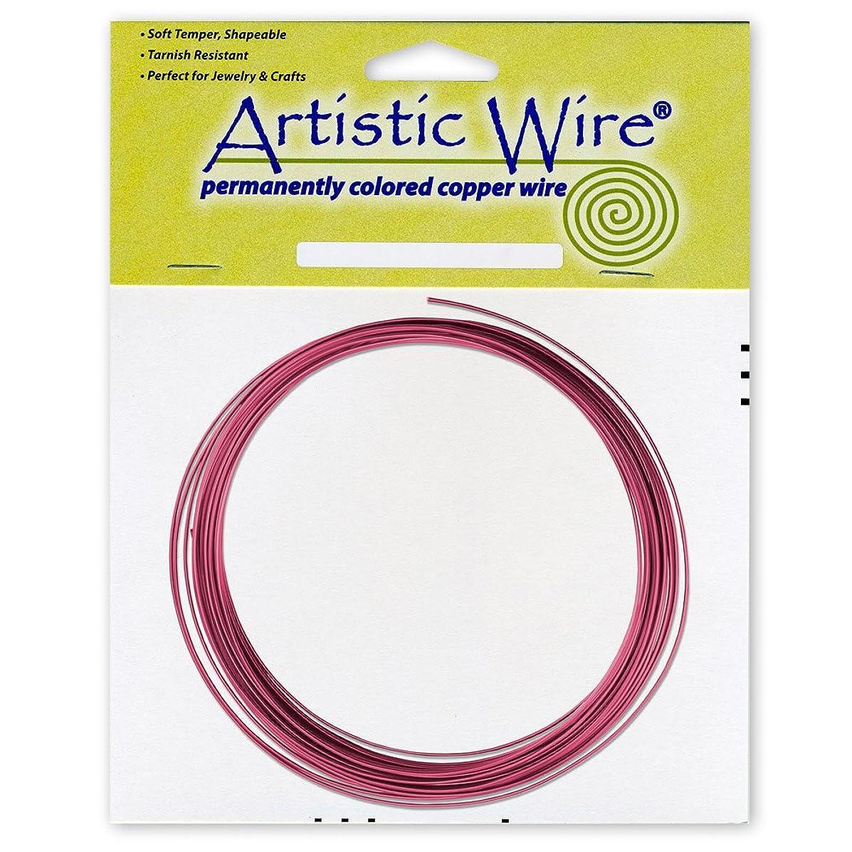 Beadalon Artistic Wire 16-Gauge Burgundy Coil Wire, 25-Feet